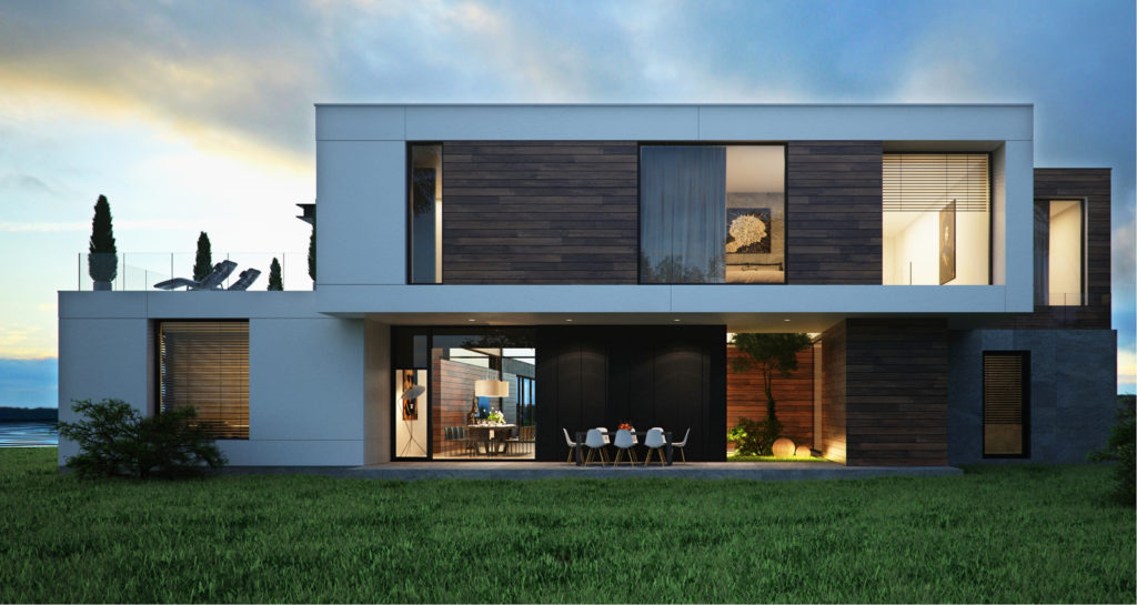 Дизайн фасада: стили и воплощение