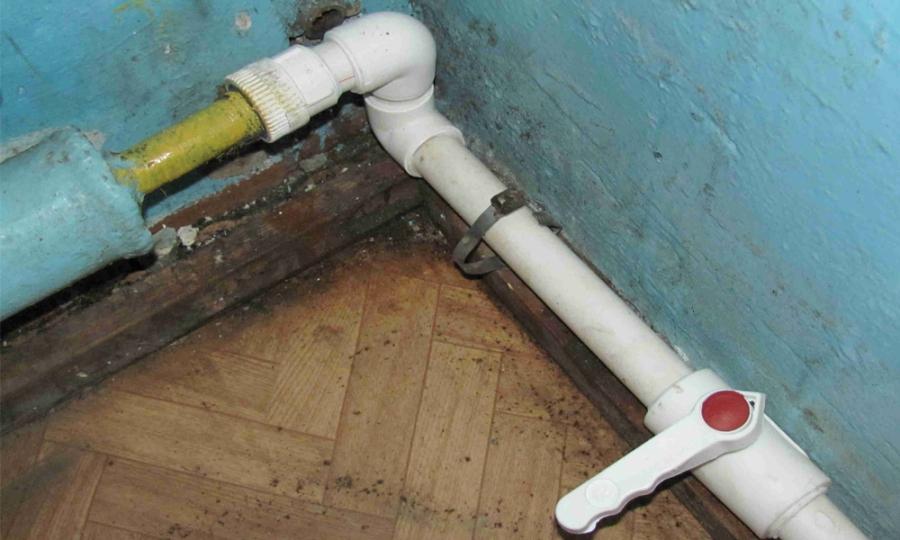 Соединение трубопроводов отопления