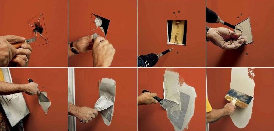 Простой ремонт дома