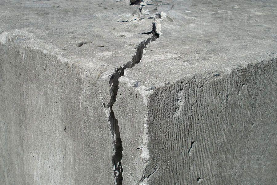 Как выявить усадочные трещины в бетоне