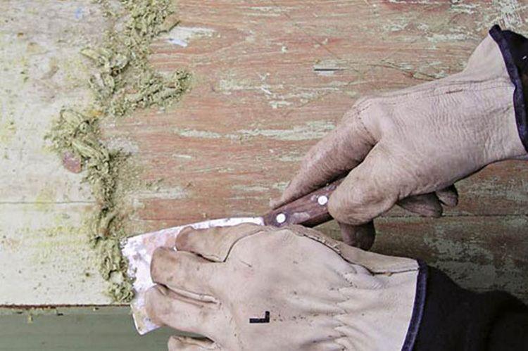 Подготовка пола к покраске: грунтовка