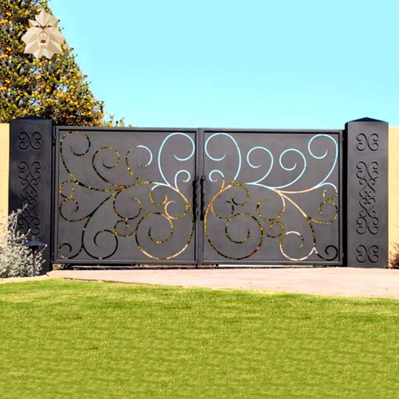 Ворота из металла своими руками