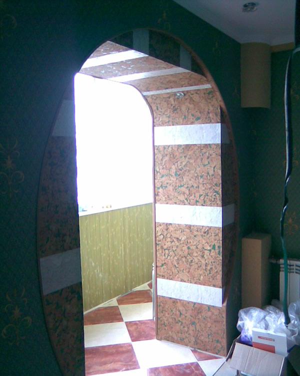 Декоративное оформление арок