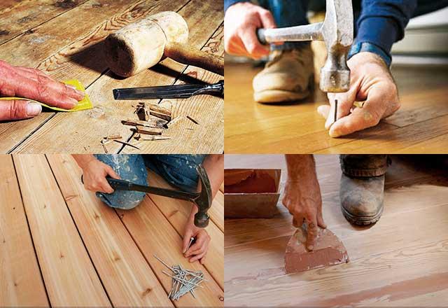 Устранить скрип деревянных полов: ищем причину
