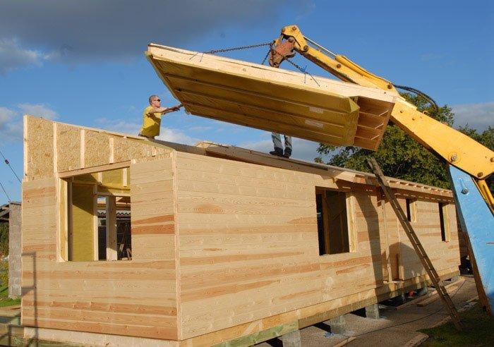 Сборные дома: тип конструкции