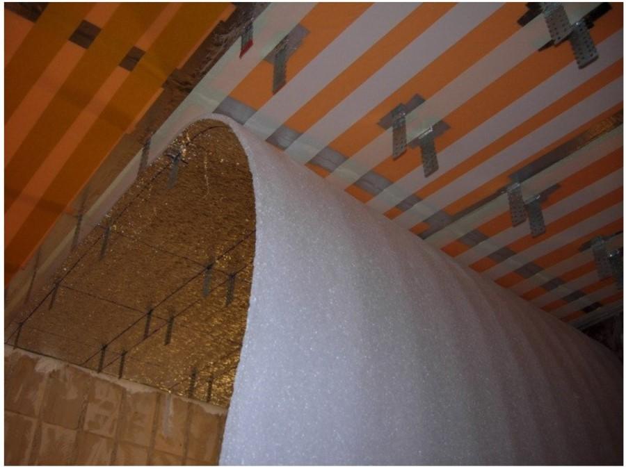 Утепление пеноплексом крыши