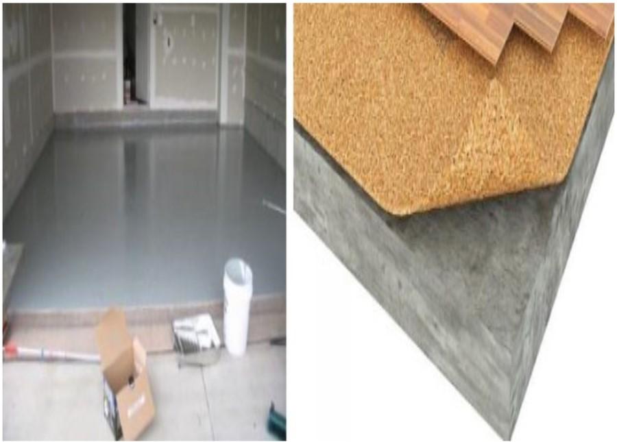 Теплоизоляция бетонных полов