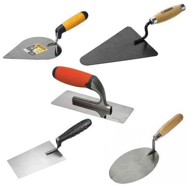 Инструменты кладки для начинающих