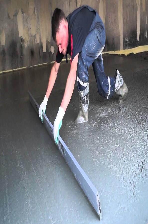 Как залить пол гаража своими руками